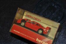 Ferrari F40 plastic model HO scale by Herpa, Mint vintage model .