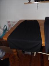 KATHY LEE LITTLE BLACK SKIRT SZ SMALL DRESS SKIRT SEXY BACK SLIT