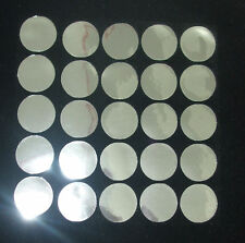 16mm Round Silver Mirror Iron-on Transfer Sequin Patch