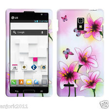 LG Optimus L9 T-Mobile P769 Snap-On Case Cover Accessory Spring Lilies