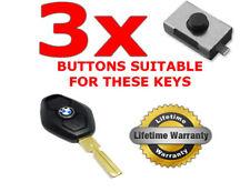 3 x SWITCH BUTTON REMOTE KEY BMW 3 5 7 Serie X3 X5 E46 E38 E39 E60 E61 E53 E83