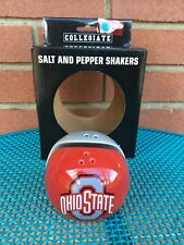 The Ohio State University OSU Buckeyes Salt & Pepper Shakers Halves Ceramic