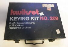 Locksmith Kwikset Professional Keying Kit 269 For All Kwikset Residential Locks