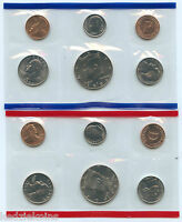 1994 Mint Set Uncirculated Coin Set Collection US Mint Philadelphia & Denver OGP