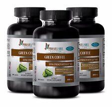 Green Coffee Bean Extract w/GCA 800 - Weight Loss - Blocks Fat Forming 180 Pills
