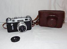 Vintage USSR Camera ZORKI 6 +  Lens Industar 50 3.5/50mm * 1965