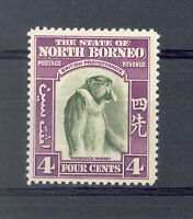 NORTH BORNEO 1939 4c BRONZE-GREEN & VIOLET SG306 MINT
