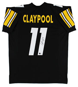 Chase Claypool Authentic Signed Black Pro Style Jersey Autographed BAS Witnessed