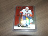 2018 19  Synergy Red Base Bounty Unscratched SP #27 mathew barzal