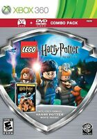 LEGO Harry Potter Years 1-4 Silver Shield Combo Microsoft Xbox 360 VIDEO GAME