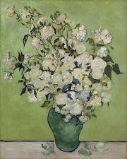 Pink Roses in a Vase (Vincent van Gogh), jigsaw puzzle, 520mm×380mm, 500pcs