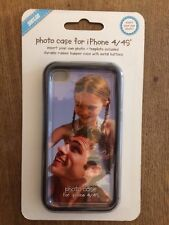 Shot2Go Photo Case For iPhone 4 or 4s - Black - NEW - Insert Your Own Picture
