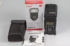 Blitz Speedlite Canon 430EX II für Canon incl. Diffusor, Kabel und Softbox
