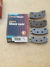 Disc Brake Pad-Premium Brake Pad Front Friction Master MKD452 NOS