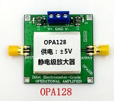 New Opa128 110dB Gain Electrostatic Level Operational Amplifier