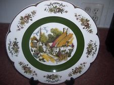 WOOD AND SONS ASCOT SERVICE PLATE IRONSTONE ALPINE WHITE ENGLAND