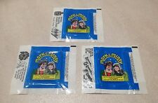 1978 Topps Mork & Mindy - All 3 Wax Pack Wrapper Variations