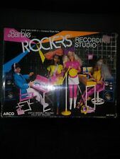 Barbie and the ROCKERS Recording Studio doll Play set ARCO NEW 1986 COMPLETE