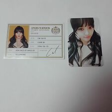 AOA 1st Angel's Knock CHAN MI Official Original Photocard 2p K-POP Idol A ver.