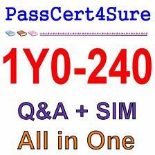 Citrix NetScaler 12 Essentials and Traffic Management 1Y0-240 Exam Q&A PDF+SIM