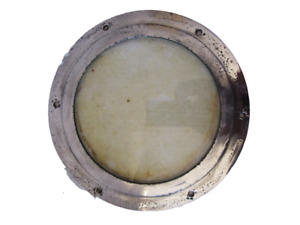 "VINTAGE Marine PORT HOLE / Window - 6.5"" GLASS - 100% ORIGINAL (1386)"