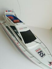 "27"" R/C Atlantic 3837 Sport Yacht Boat Remote Controlled Untested No Remote"