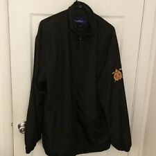 Pine Lakes Country Club Cc Golf Full Zip Athletic Polyester Jacket Mens xLarge