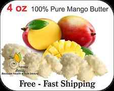 4oz 100% Pure RAW Mango Butter Fresh, Natural, Refined  Free Shipping (for skin)