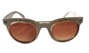 Steampunk Flip Up White UV Sunglasses Cosplay Goggles