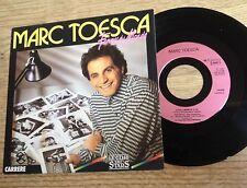SP 45 tours Marc Toesca Femmes du monde TV Top 50 Canal + 1987 EXC+
