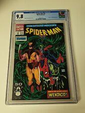 Spider-Man #9 CGC 9.8 Wolverine Todd McFarlane Marvel Comics 1991