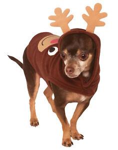 Pet Ugly Christmas Sweater Reindeer Rudolf Dog Cat Hoodie