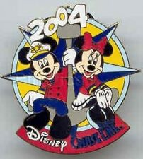 Disney Pin: DCL Disney Cruise Line - Mickey and Minnie Anchor (2004)