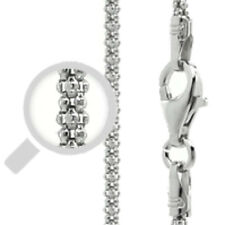 Italy Popcorn 150 Chain Sterling Silver Rhodium Plated Best Price Jewelry 22""