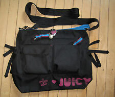 Juicy Couture Bag Baby Stroller Nylon Messenger NWD $228