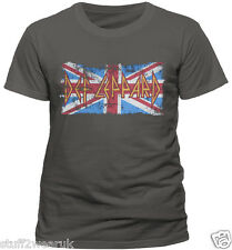 T-shirt Unisex - Def Leppard Union Jack Cid M Pe11764tscp