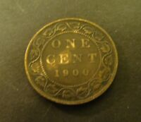 1900 CANADA 1 CENT     Canadian     Foreign Coin