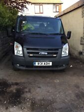 FORD TRANSIT RECOVERY TRUCK BLACK LOOK !!!