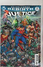 DC COMICS JUSTICE LEAGUE #20 JULY 2017 REBIRTH VARIANT 1ST PRINT NM