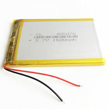 1600mAh 3.7V Lipo Polymer Battery For DVD GPS mp3 bluetooth mobile phone 405070