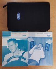 GENUINE FORD FOCUS Mk2 FACELIFT HANDBOOK OWNERS MANUAL WALLET 2008-2011 # D-937