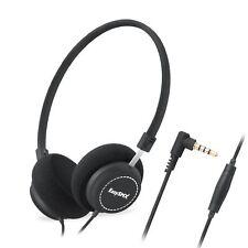 EasySMX M110 On-Ear Music Headphone Lightweight Stylish Fabric Design In-line