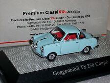 GOGGOMOBIL TS 250 COUPE LIGHT BLUE PREMIUM CLASSIXXS  1/43
