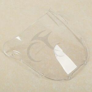 Clear Dual Bubble Windshield Windscreen For Honda CBR 900RR 893 95-97 95 1996