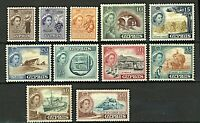 Cyprus QEII 1955 pictorial issue 2m to 50m sg173/83 (11v) Mint Stamps