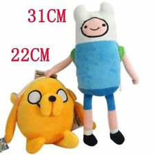 2PCS* New Adventure Time with Finn and Jake Kids Child Plush Toys Kids Gift