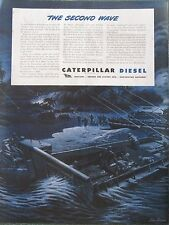 Caterpillar Dozers Forge the second wave of Invasion WWII Ad