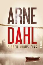 Sieben minus eins von Arne Dahl (2016, Taschenbuch)