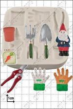 Moule Silicone outils de jardin | usage alimentaire FPC Sugarcraft expédition gratuite R-U!