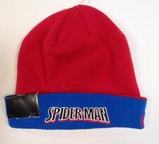 New Era Spiderman Hero Flip It Up 2 in 1 Flip Knit Beanie Adult One Size